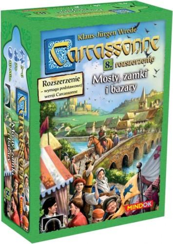 Carcassonne Mosty, Zamki i Bazary - Dodatek 8