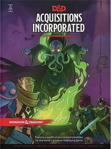 D&D 5.0: Acquisitions Incorporated (edycja angielska)
