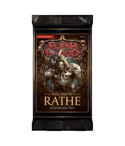 Flesh and Blood TCG - Welcome to Rathe - Unlimited Booster