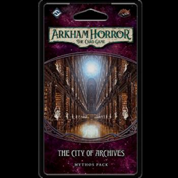 Arkham Horror LCG: City of Archives Mythos Pack - EN