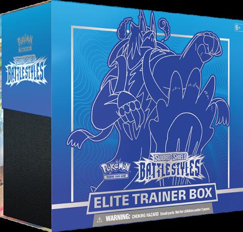 Pokemon TCG: Battle Styles Elite Trainer Box - Niebieski