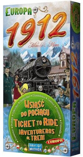 Wsiąść do Pociągu: Europa 1912 (nowa edycja)