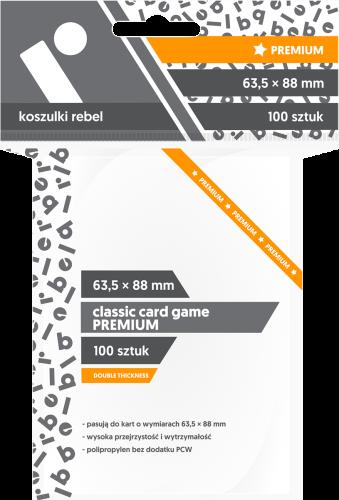 Koszulki Rebel: Classic Card Game Premium 63,5x88