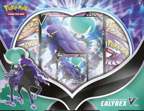 Pokémon TCG: V Box August'21 Shadow Rider Calyrex