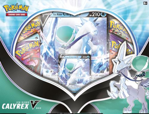 Pokémon TCG: V Box August'21 Ice Rider Calyrex