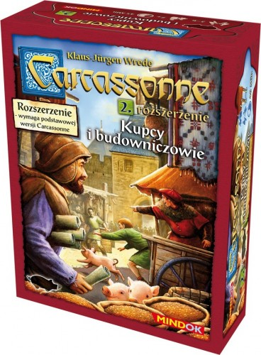 Carcassonne Kupcy i Budowniczowie dodatek 2