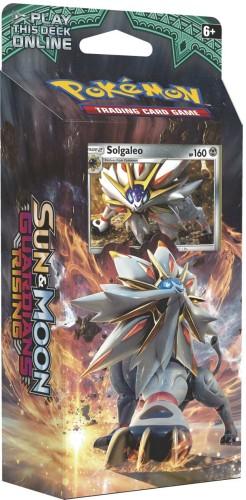 Pokemon: S&M Guardians Rising - Steel Sun SOLGALEO talia
