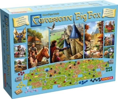 Carcassonne Big Box - gra podstawowa oraz 11 dodatków